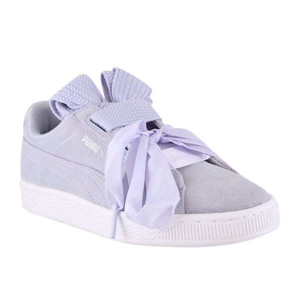reputable site 43674 0c3a0 Puma suede basket heart sneakers